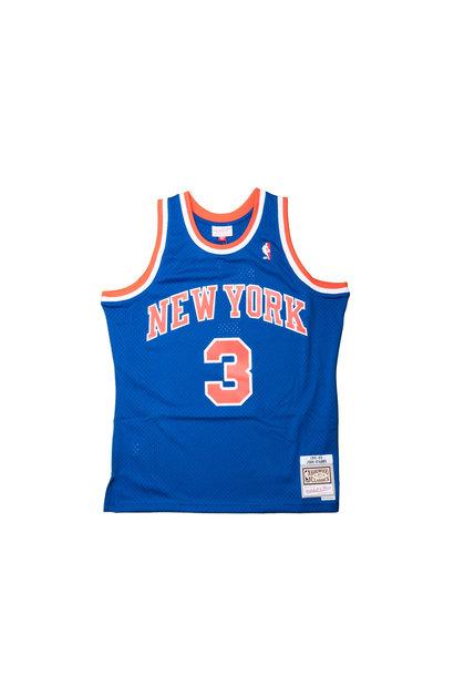 "NY Knicks '91-'92 J. Starks Swingman Jersey ""Royal"""