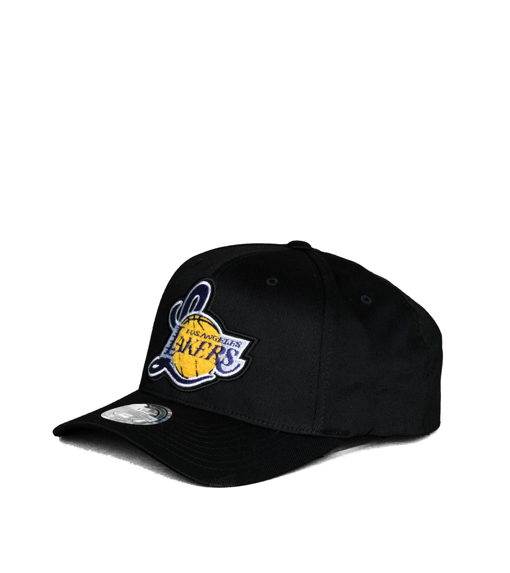 "LA Lakers Letterman 110 Cap ""Black""-1"