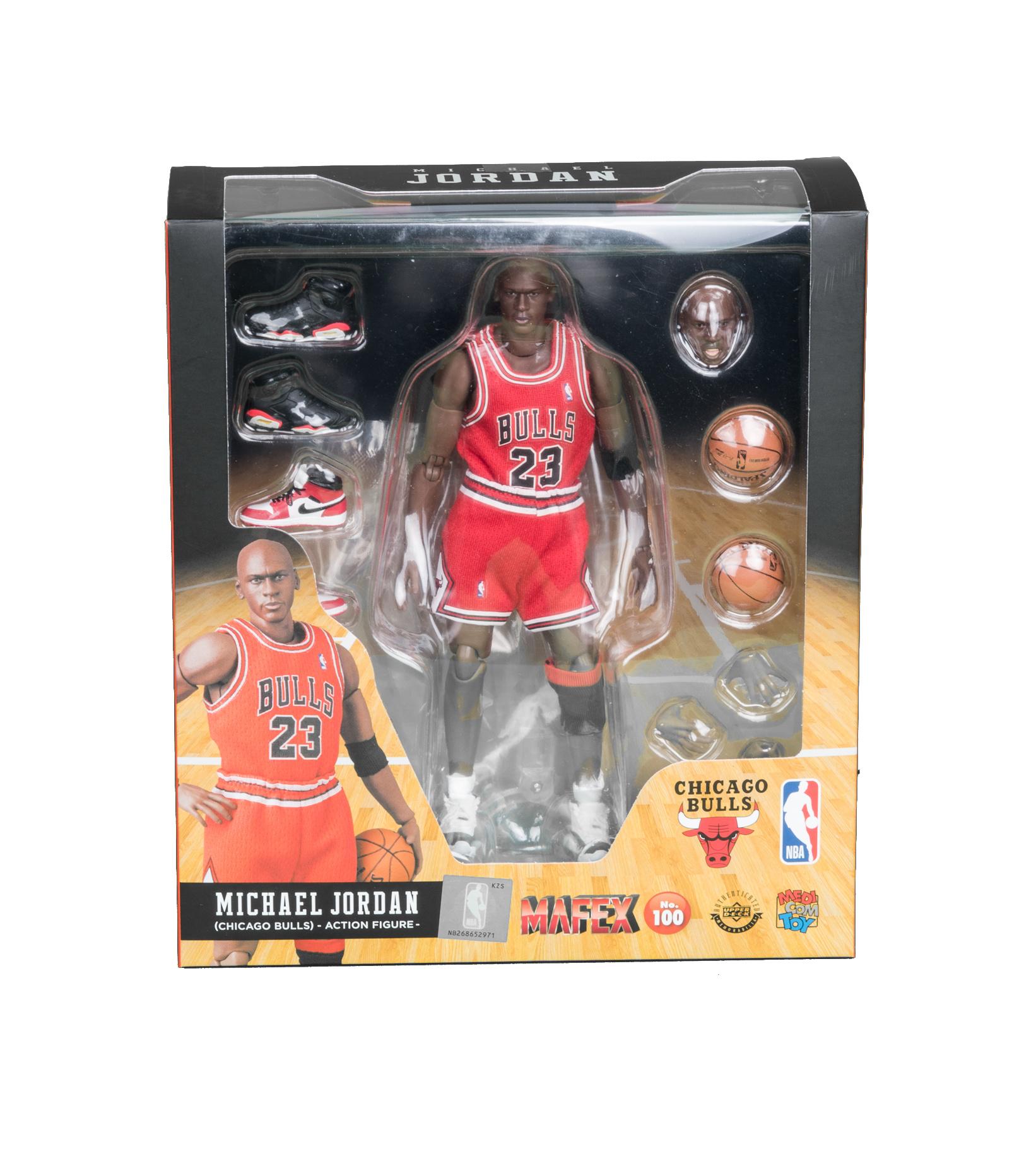 "Mafex NBA Michael Jordan 6.5"" Figurine ""Chicago Bulls""-1"
