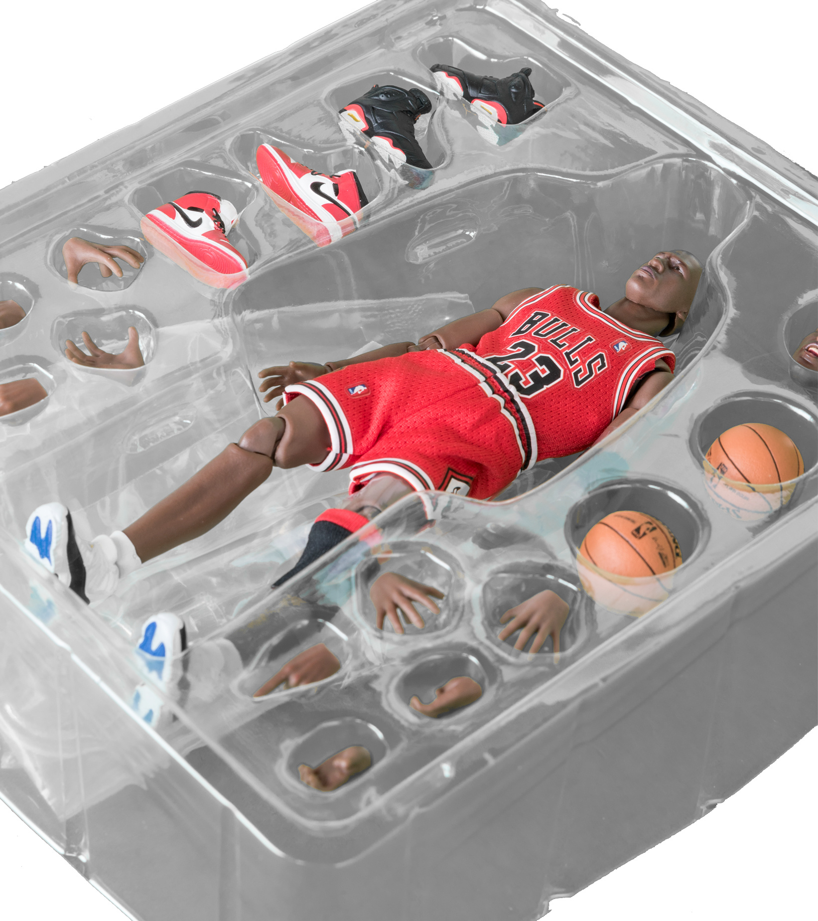 "Mafex NBA Michael Jordan 6.5"" Figurine ""Chicago Bulls""-5"