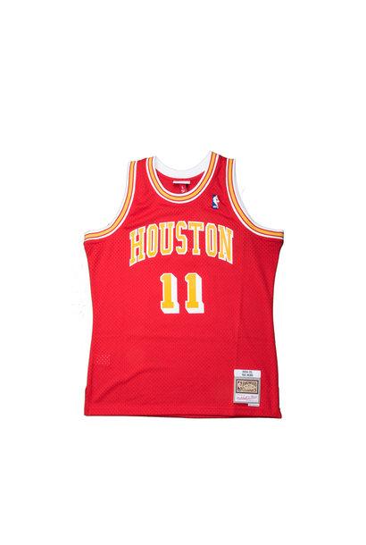 """Houston Rockets '04-'05 Y. Ming Swingman Jersey """"University Red"""""""