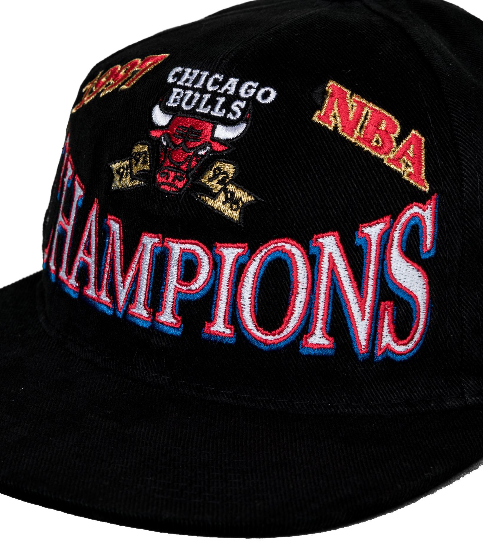 "Chicago Bulls Champions Deadstock Snapback ""Black""-4"