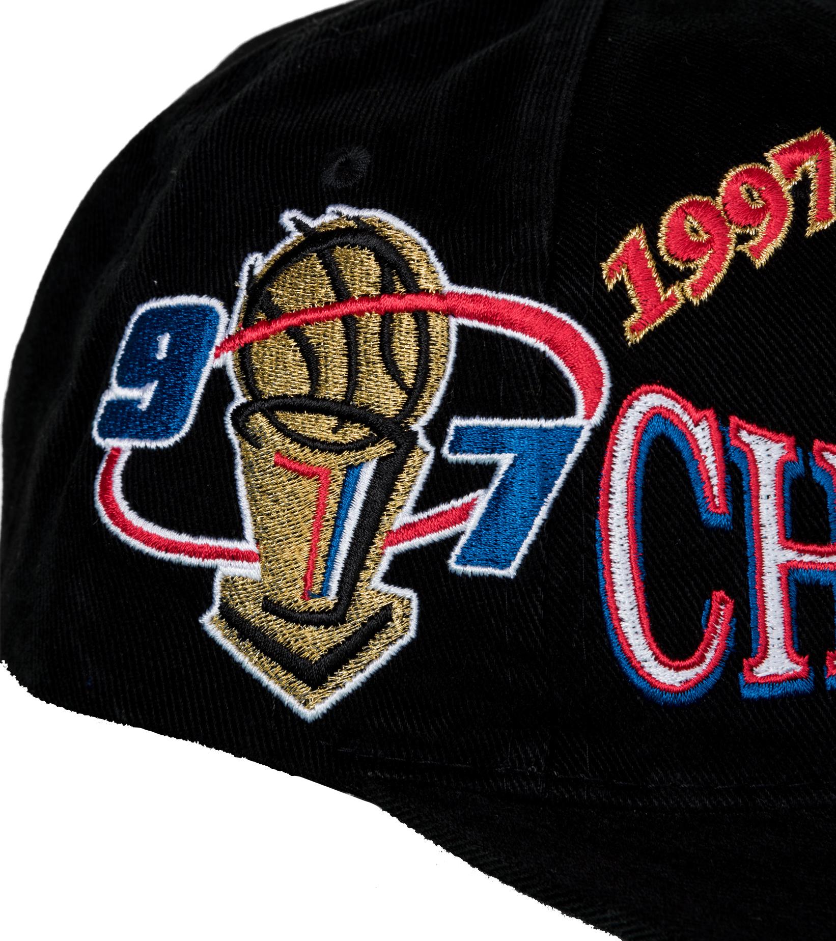 "Chicago Bulls Champions Deadstock Snapback ""Black""-6"