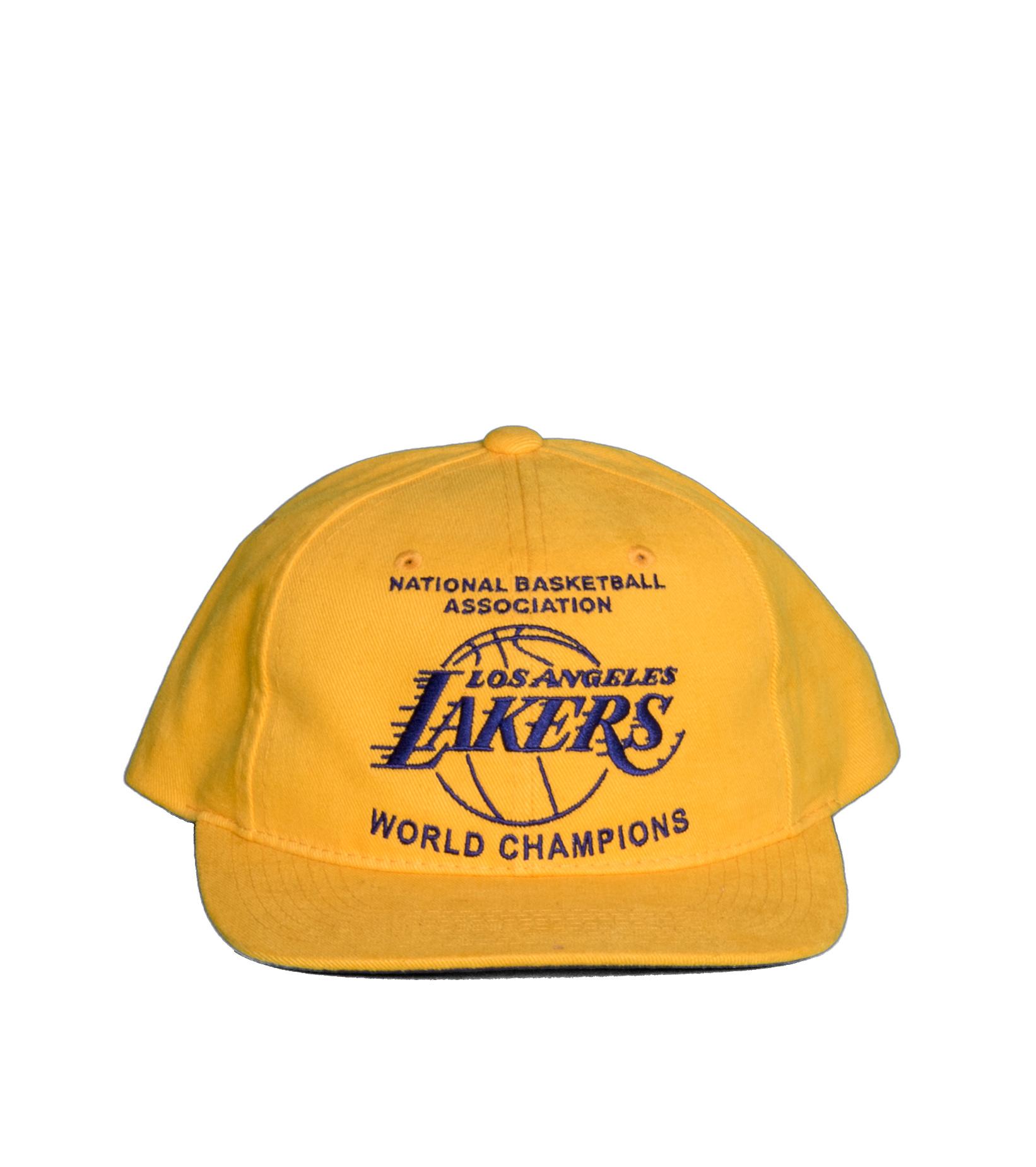 "LA Lakers Champions Deadstock Snapback ""Yellow""-3"