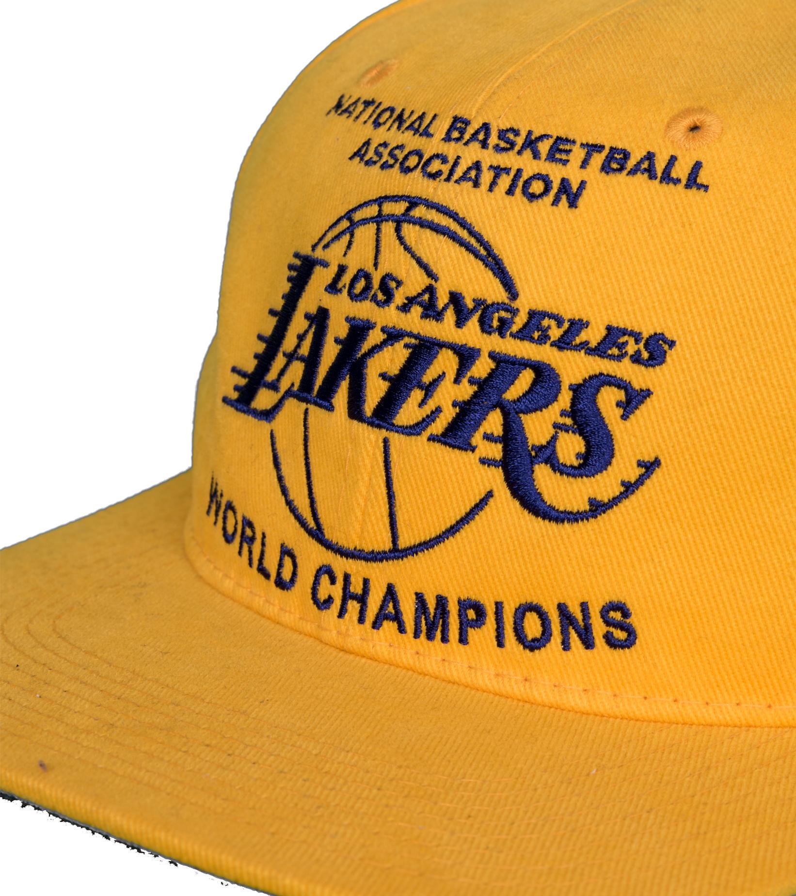 "LA Lakers Champions Deadstock Snapback ""Yellow""-4"