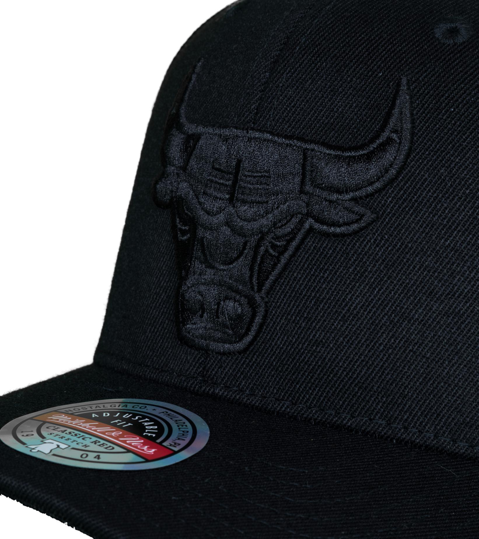 """Chicago Bulls Rings Redline Snapback """"Black""""-4"""