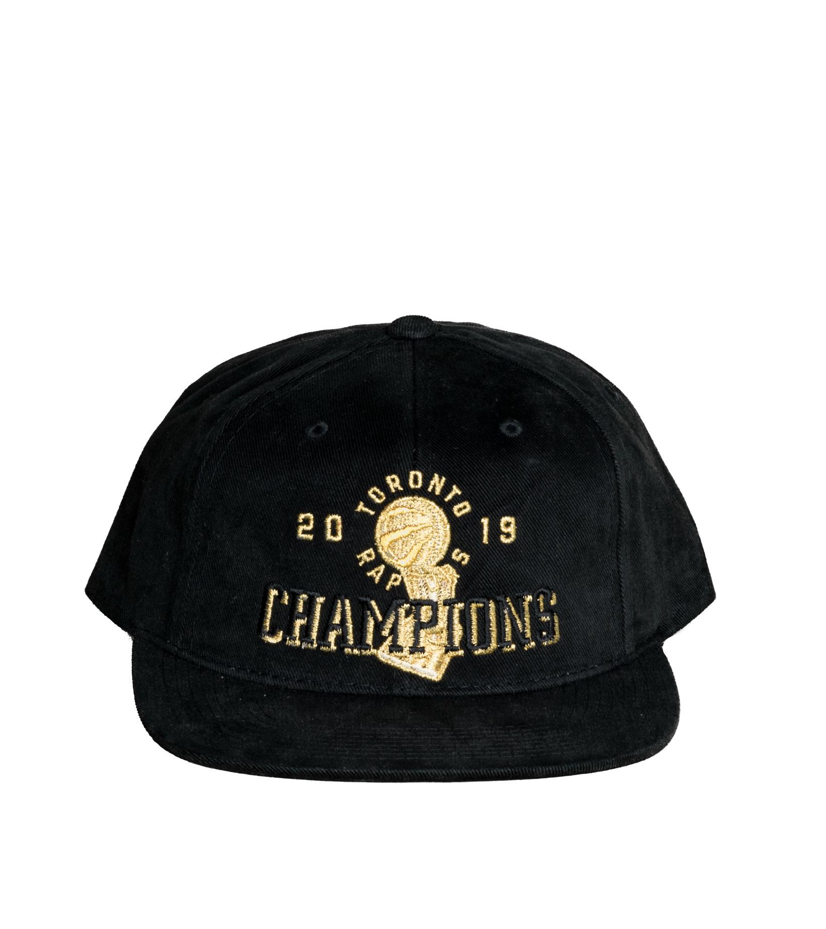 "Toronto Raptors Champions Deadstock Snapback ""Black""-3"