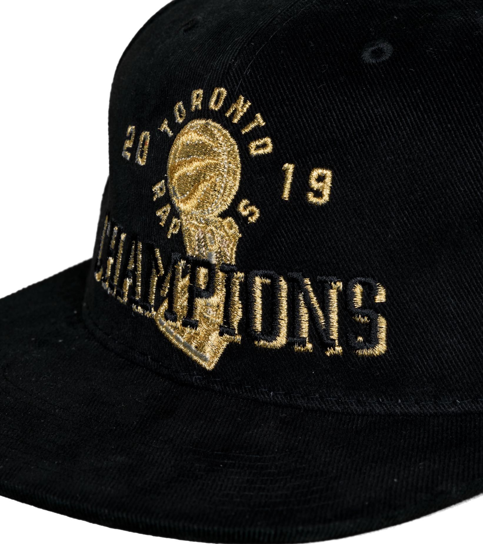 "Toronto Raptors Champions Deadstock Snapback ""Black""-4"