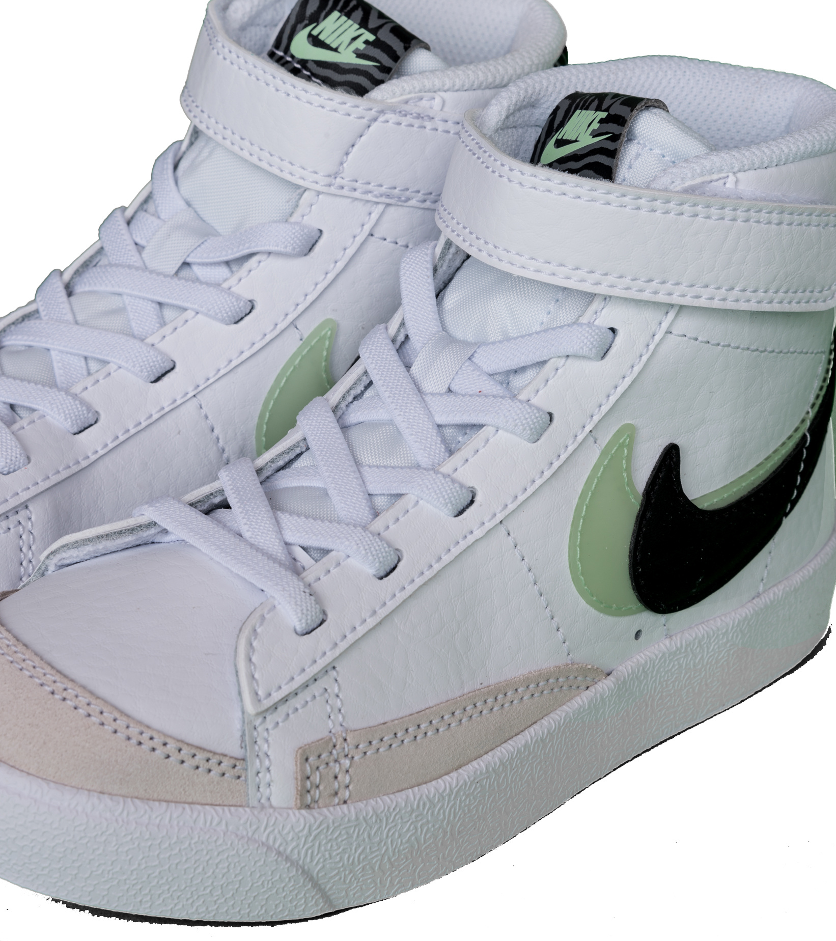 "Blazer Mid '77 SE (PS)  ""White/Vapor Green""-7"