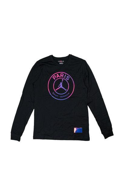 "PSG Logo LS Tee ""Black/Psychic Purple"""