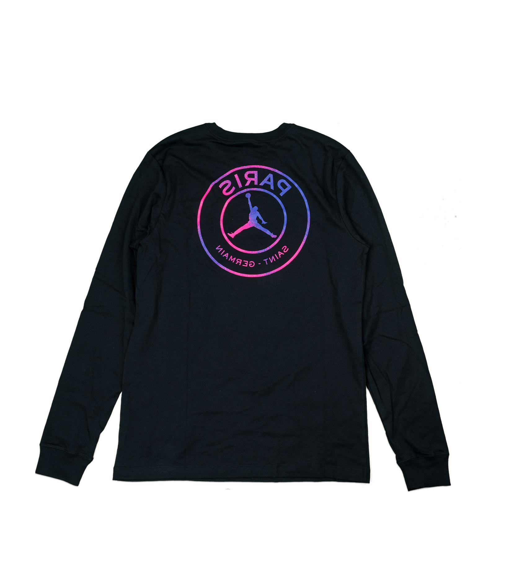 "PSG Logo LS Tee ""Black/Psychic Purple""-4"