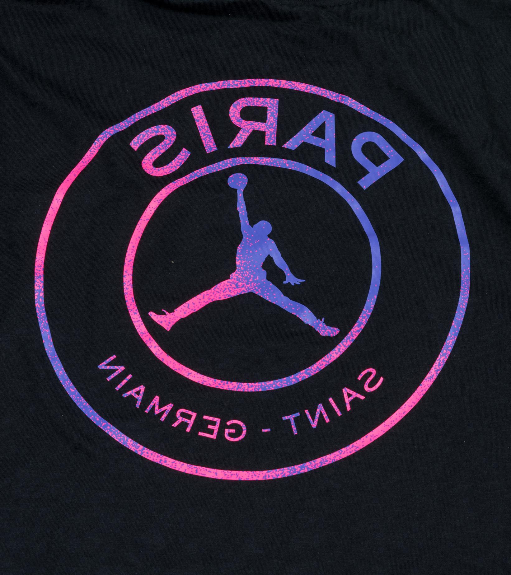 "PSG Logo LS Tee ""Black/Psychic Purple""-5"