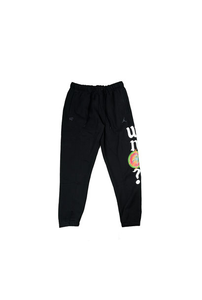 "Why Not? Fleece Pants ""Black/Multicolor"""