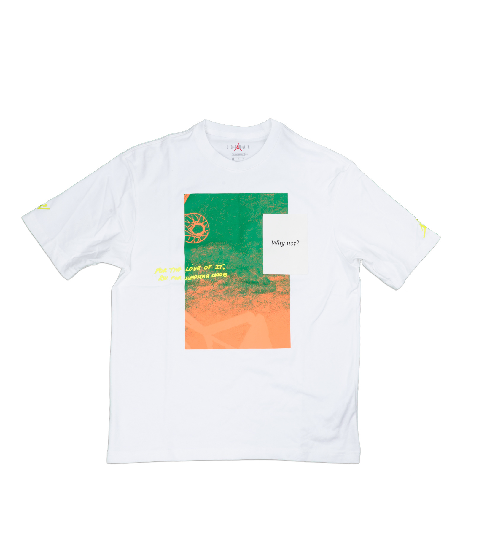 "Why Not? Tee ""White""-1"
