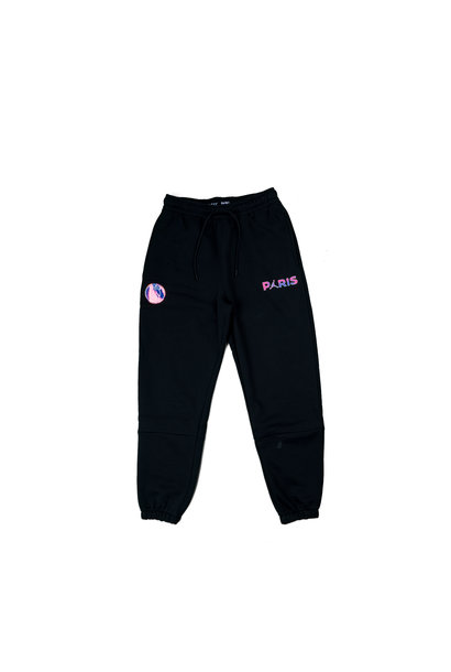 "PSG Logo Fleece Pants ""Black/Psychic Purple"""