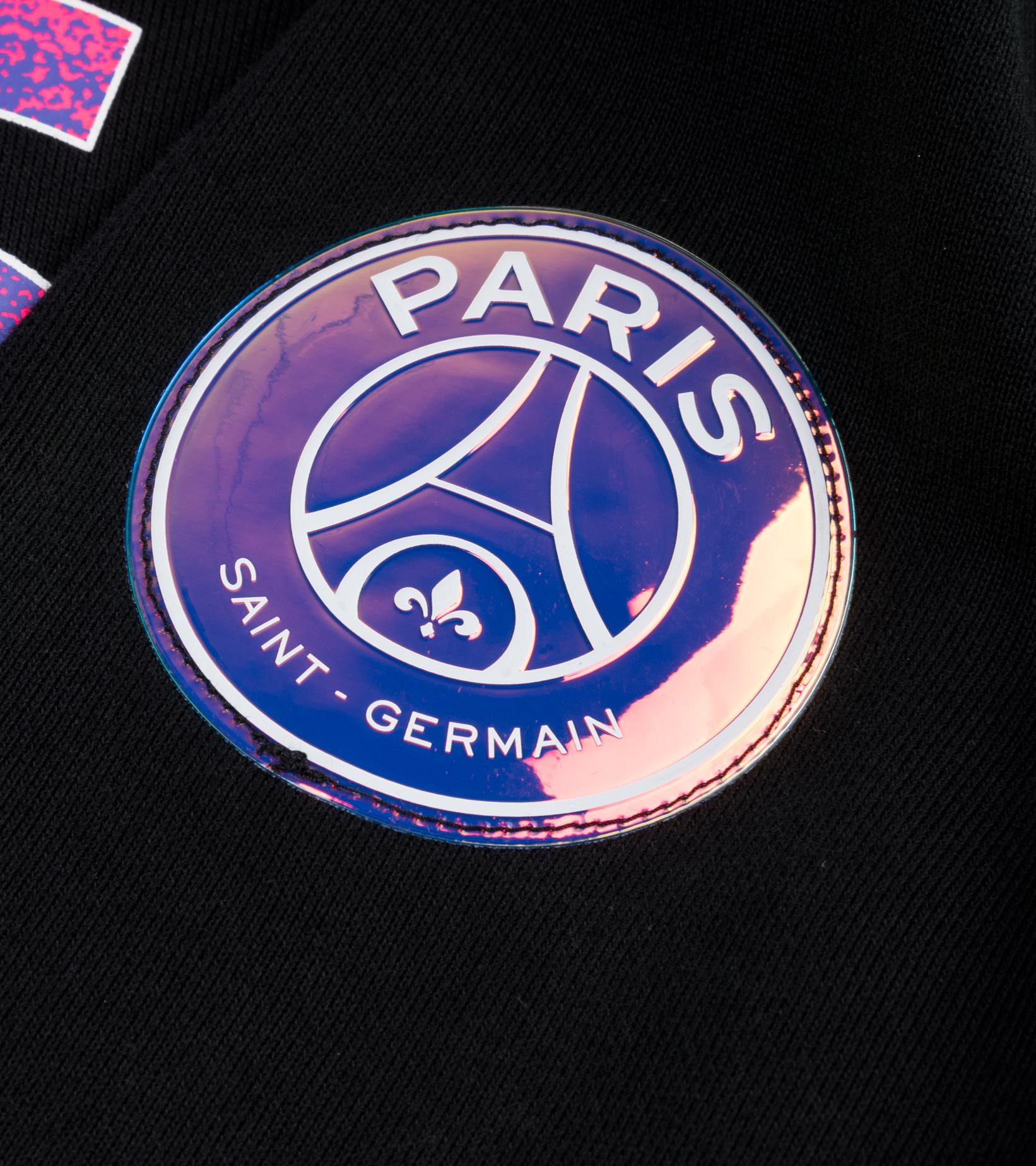 "PSG Full-Zipped Hoodie ""Black/Psychic Purple""-3"