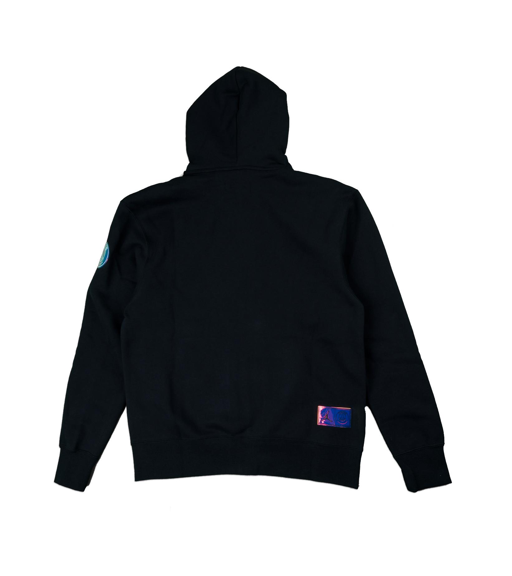 "PSG Full-Zipped Hoodie ""Black/Psychic Purple""-4"