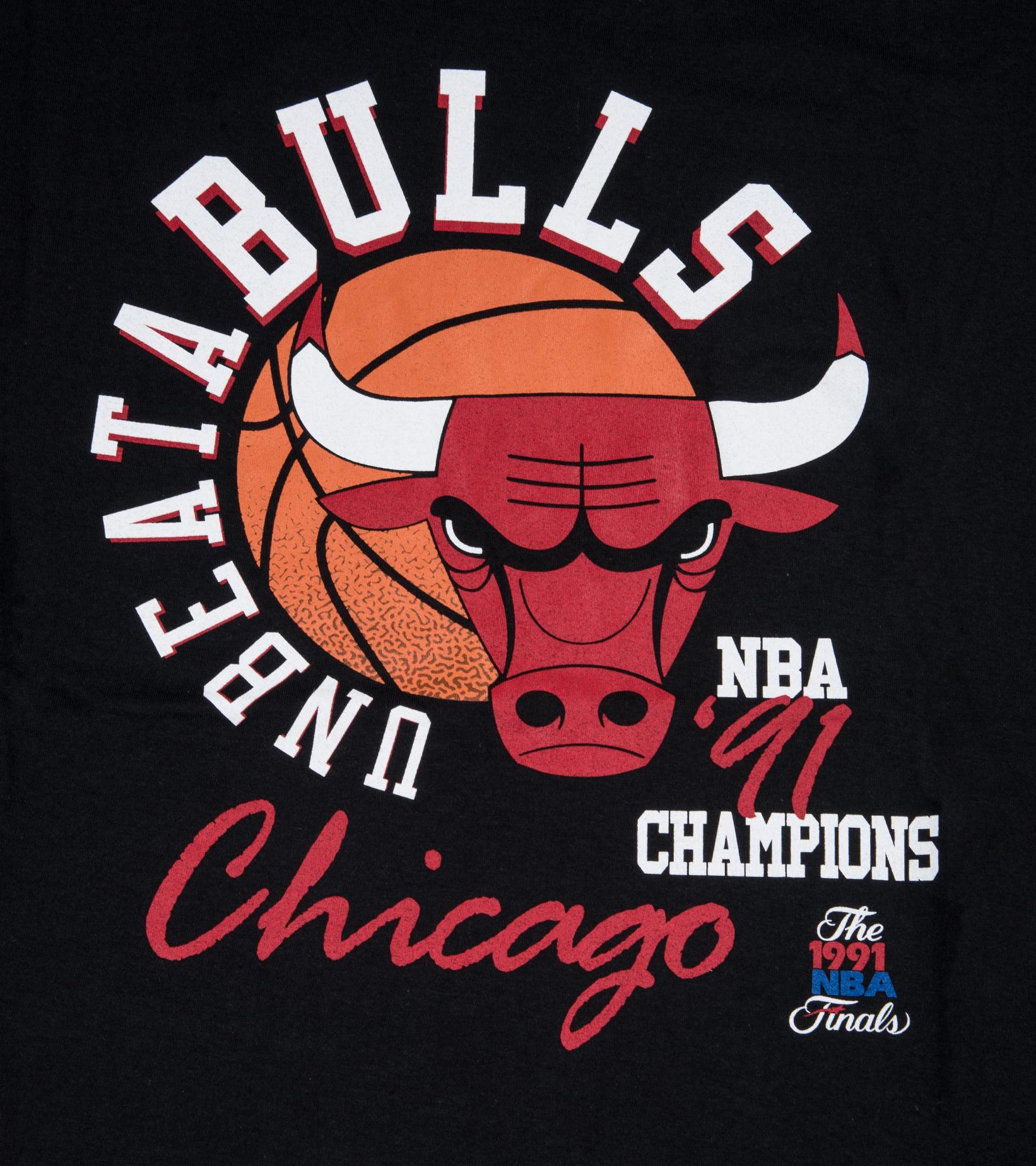 "Chicago Bulls Unbeatabulls Tee ""Black""-2"