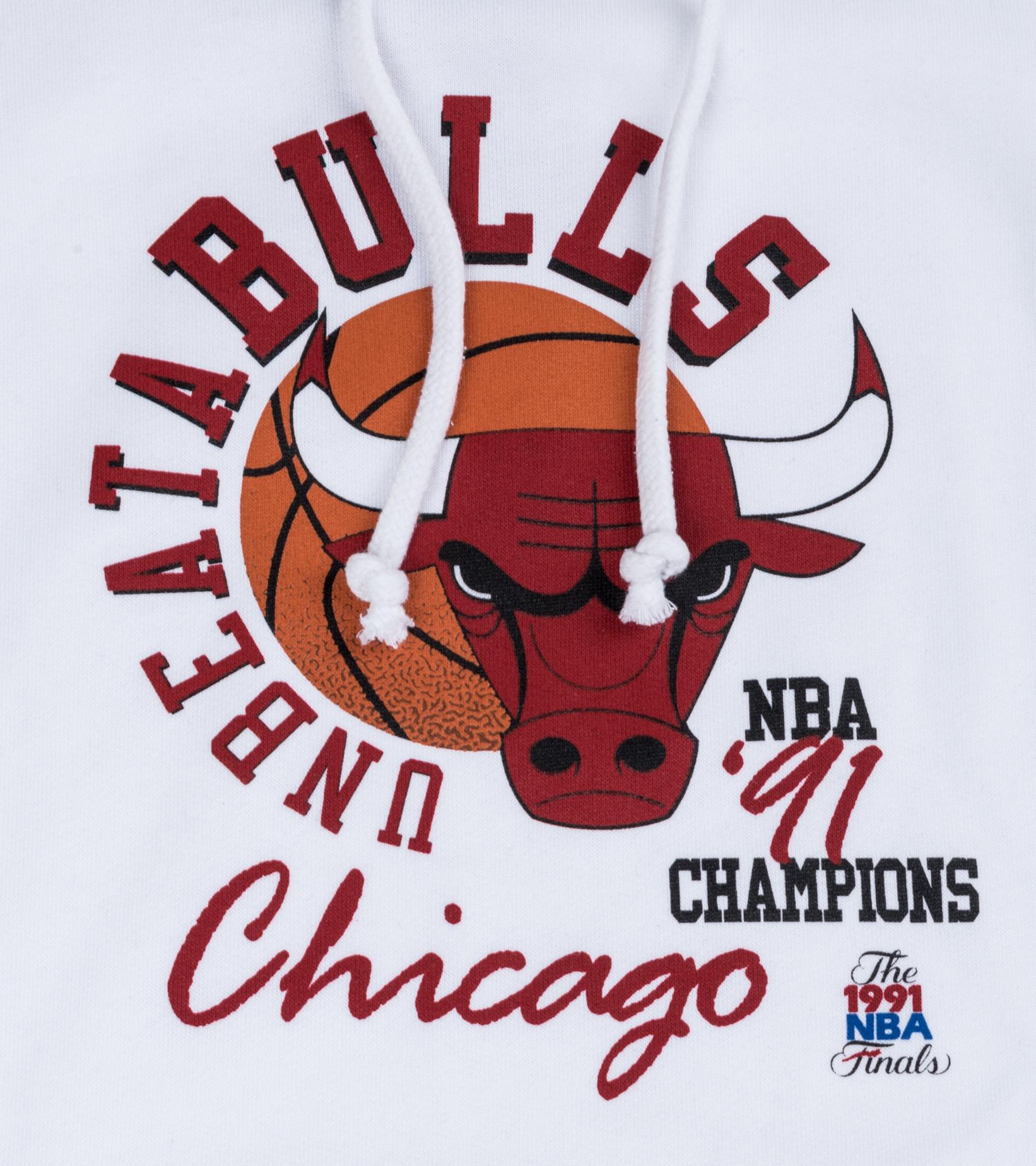 """Chicago Bulls Unbeatabulls Hoodie """"White""""-2"""