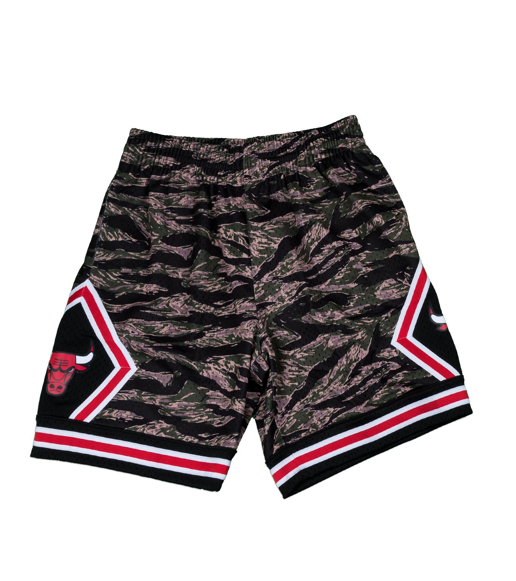 "Chicago Bulls Tiger Camo Swingman Short ""Camo""-1"