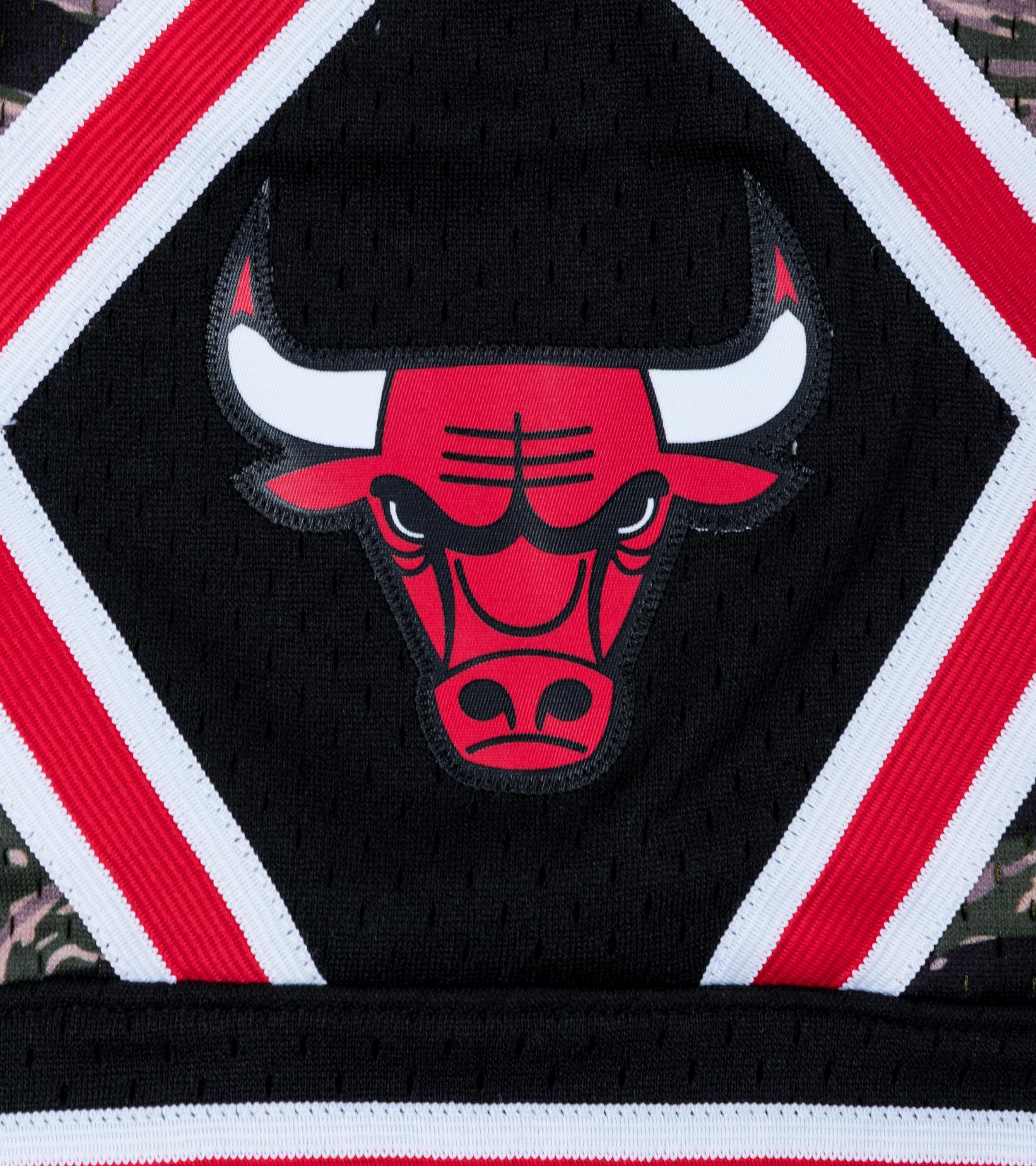 "Chicago Bulls Tiger Camo Swingman Short ""Camo""-3"