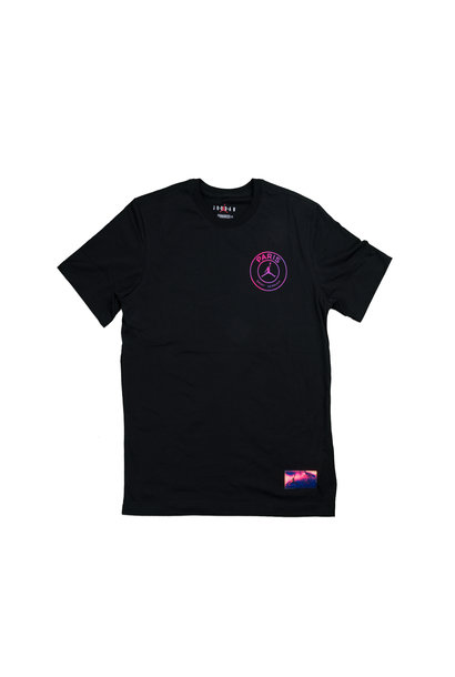 "PSG Logo Tee ""Black/Psychic Purple"""