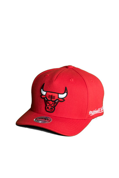 "Chicago Bulls Dropback Solid Redline Snapback ""Red"""