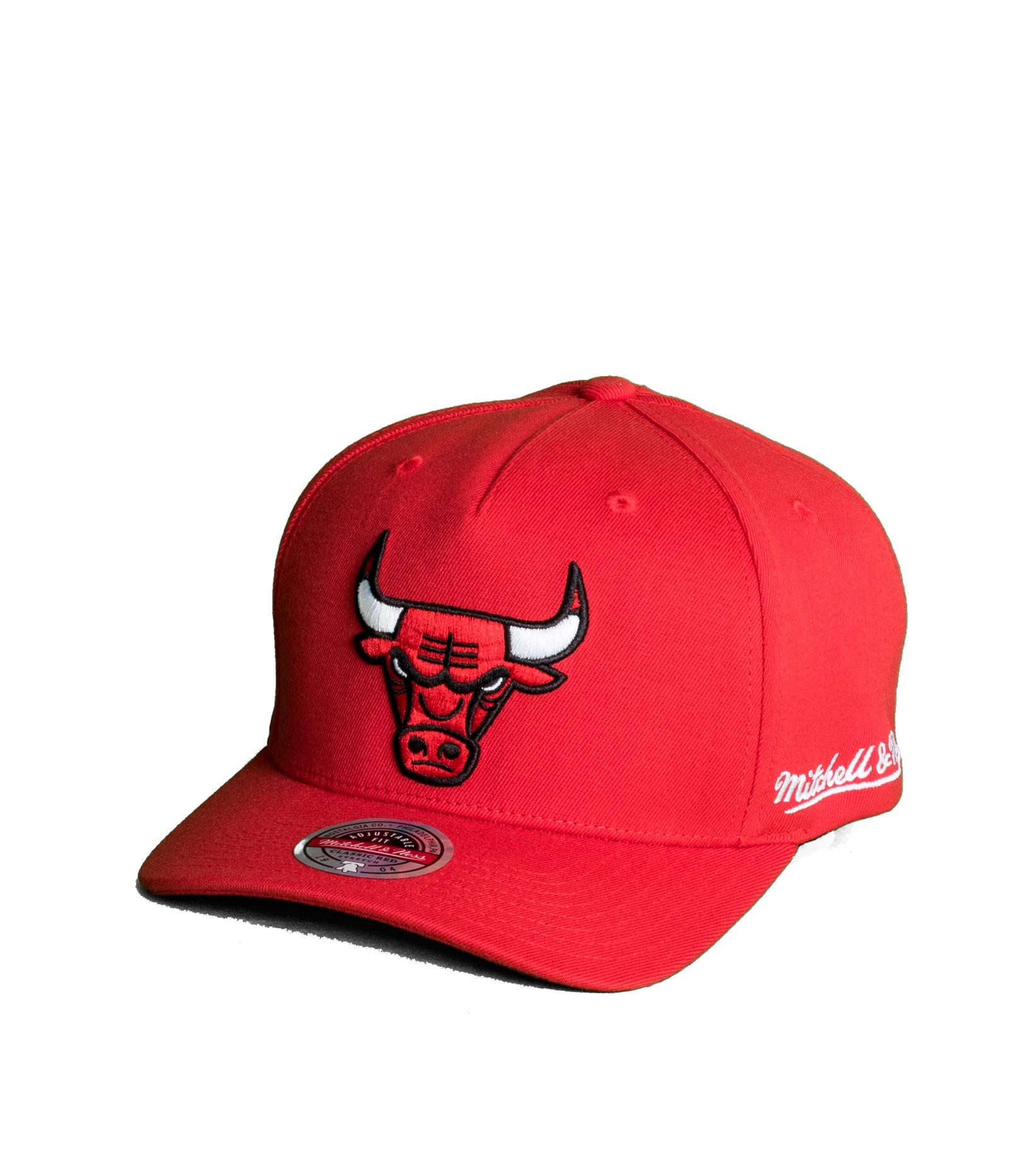 """Chicago Bulls Dropback Solid Redline Snapback """"Red""""-1"""