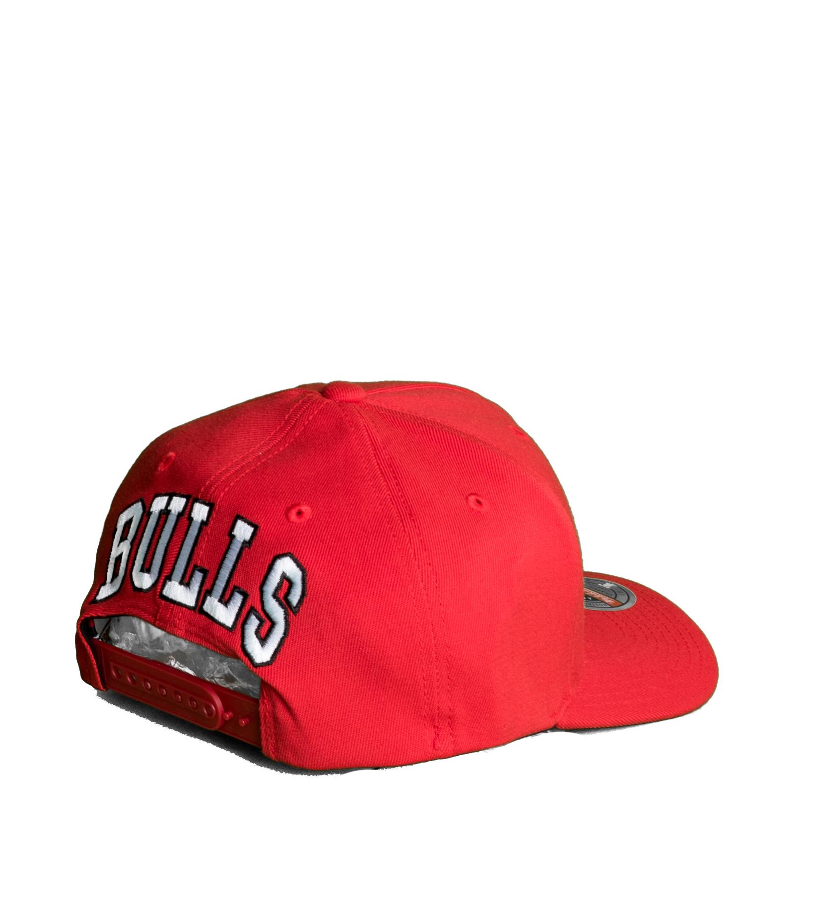 """Chicago Bulls Dropback Solid Redline Snapback """"Red""""-2"""