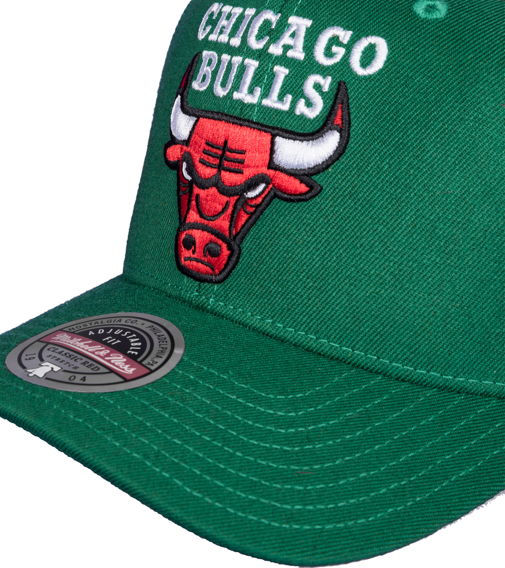 "Chicago Bulls Saint Redline Snapback ""Kelly Green""-4"