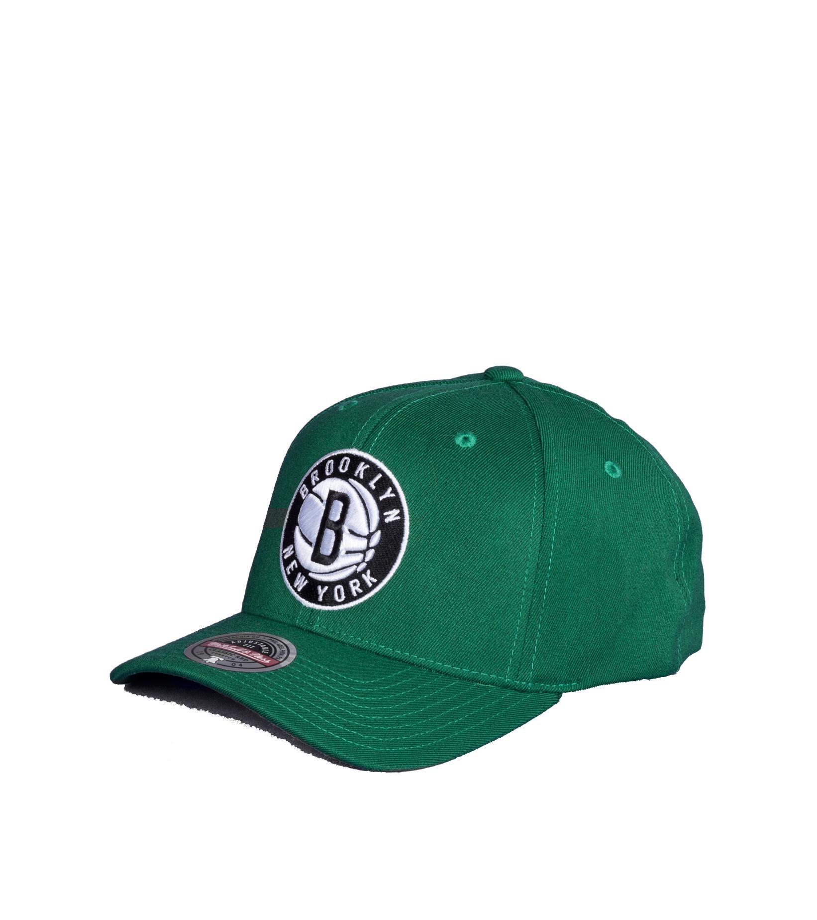 "Brooklyn Nets Saint Redline Snapback ""Kelly Green""-1"