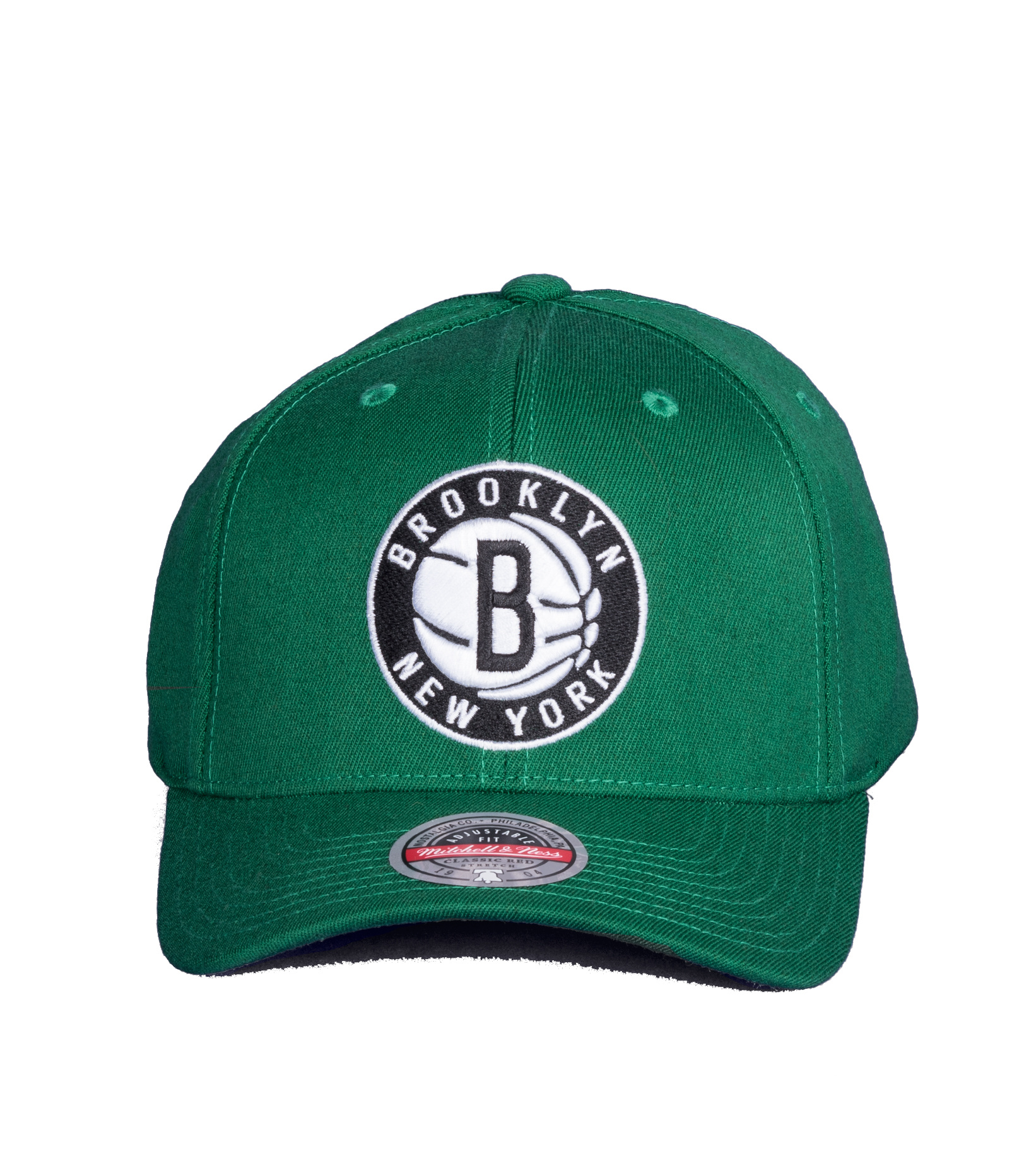 "Brooklyn Nets Saint Redline Snapback ""Kelly Green""-3"