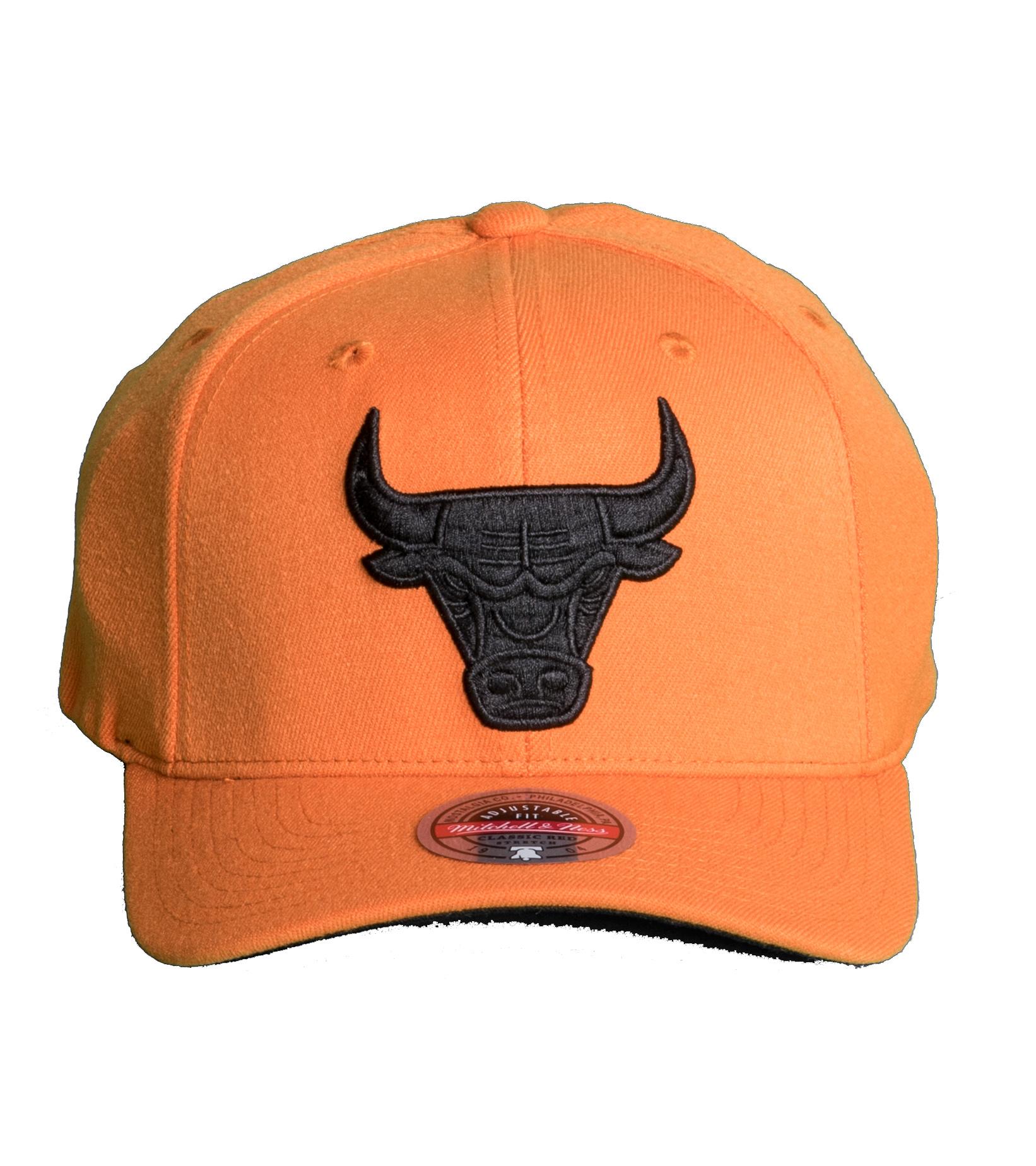 "Chicago Bulls Cast Redline Snapback ""Dark Orange""-3"