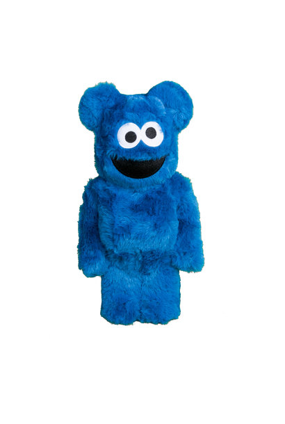 "Cookie Monster Costume 400% Be@rbrick ""Blue"""