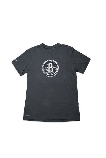 """Brooklyn Nets Earned Edition '21 Dri-Fit Tee """"Anthracite"""""""