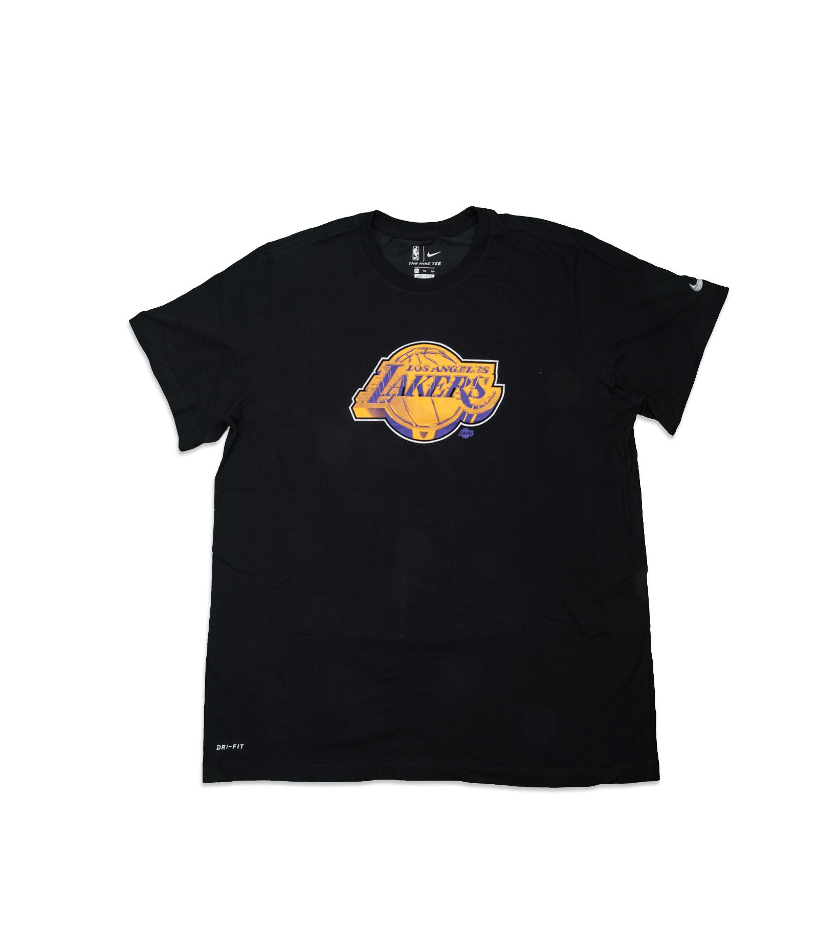 "LA Lakers Earned Edition '21 Dri-Fit Tee ""Black""-1"