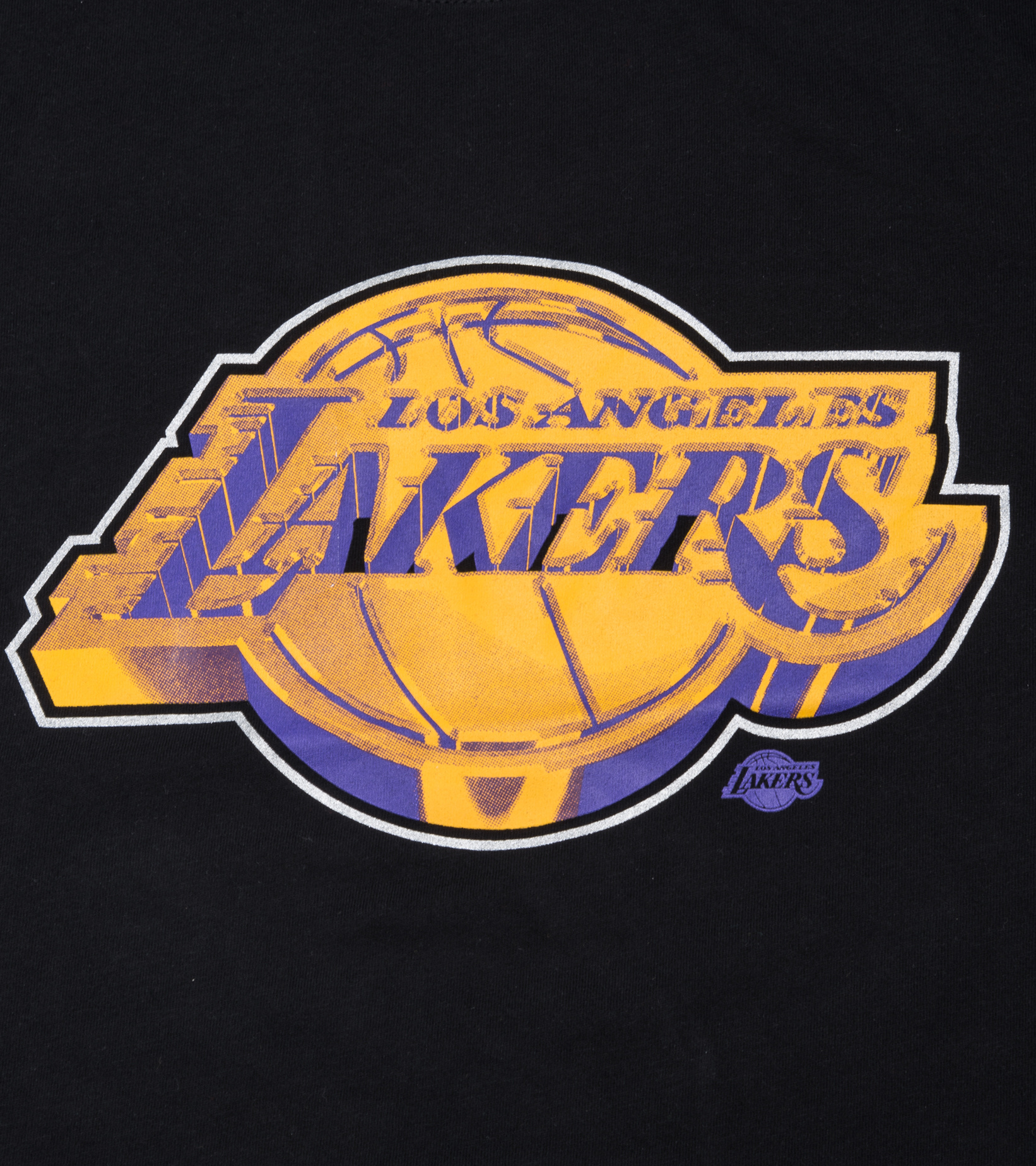 "LA Lakers Earned Edition '21 Dri-Fit Tee ""Black""-2"