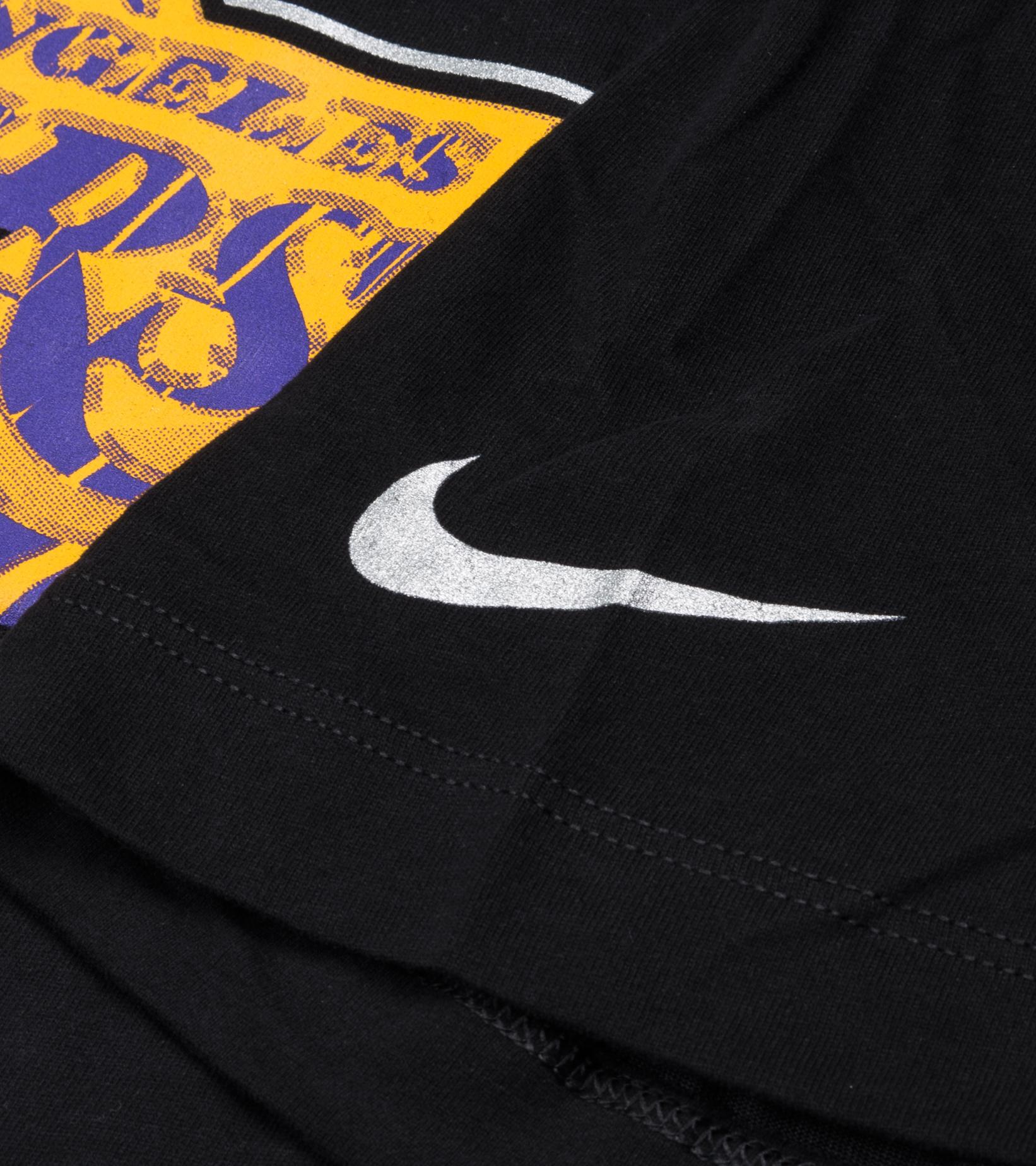 "LA Lakers Earned Edition '21 Dri-Fit Tee ""Black""-4"
