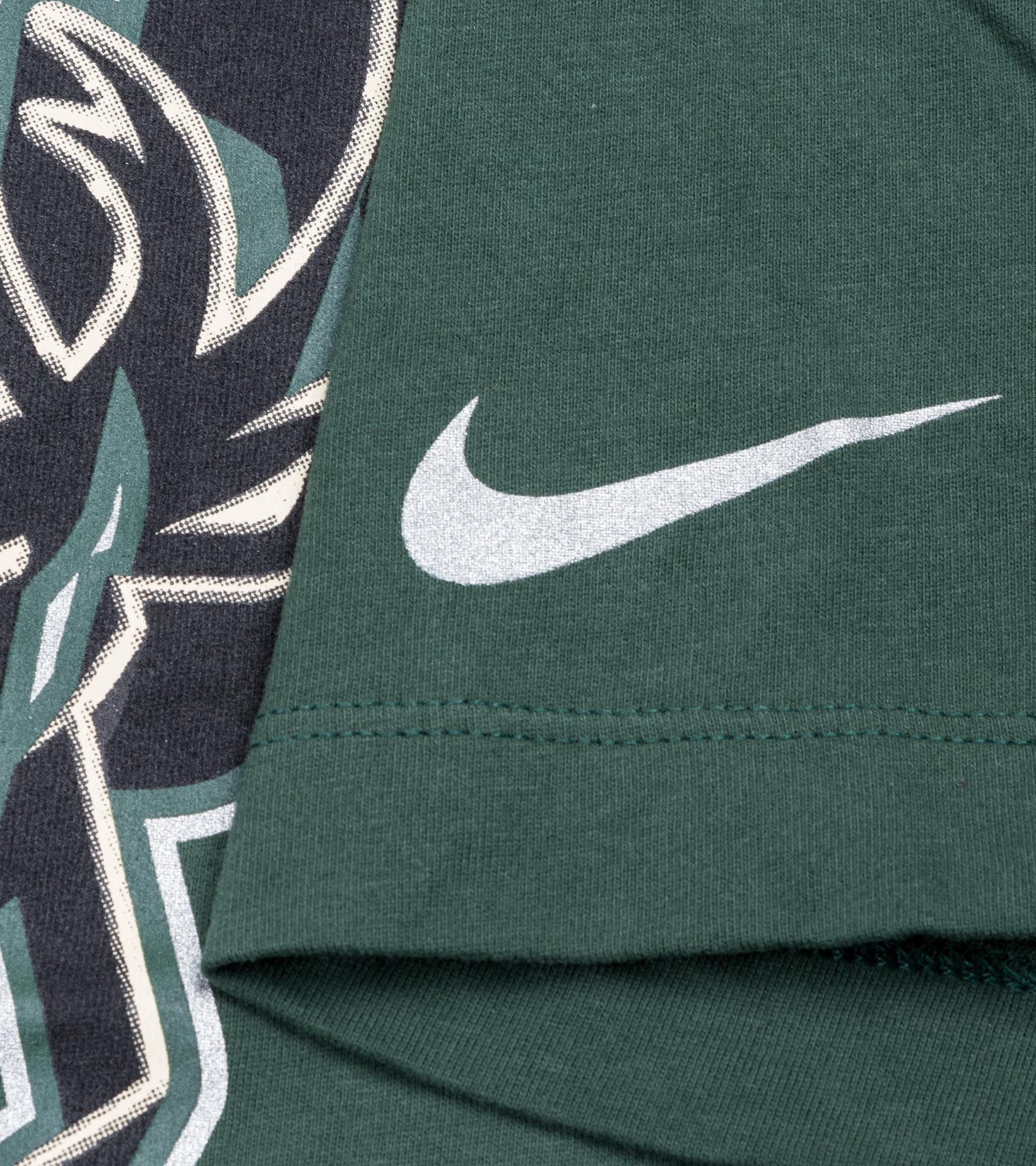 "Milwaukee Bucks Earned Edition '21 Dri-Fit Tee ""Fir""-4"