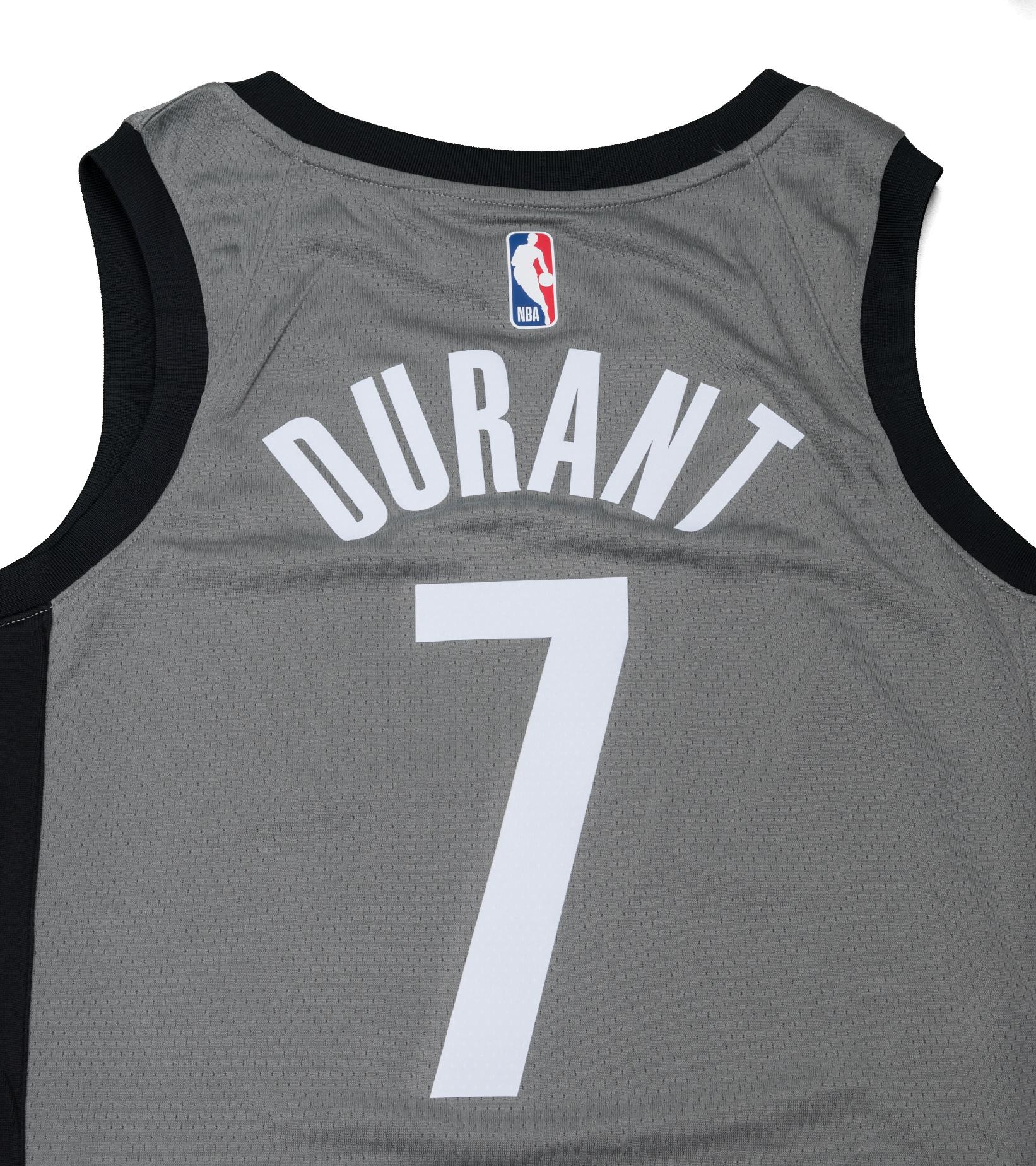 "K. Durant Statement Edition '20 Swingman Jersey ""Dark Steel Grey""-6"