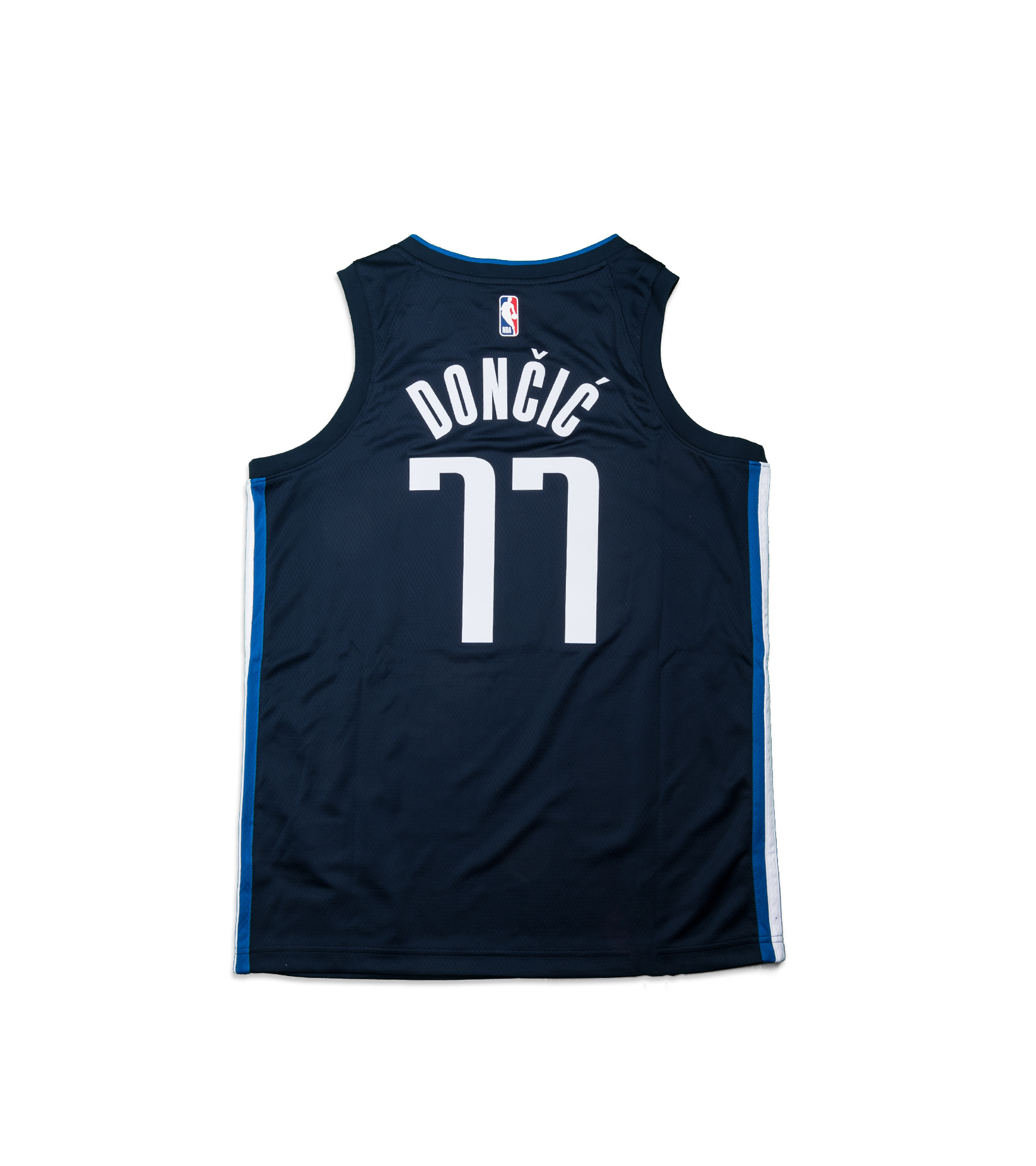 """L. Doncic Statement Edition '20 Swingman Jersey """"College Navy""""-4"""