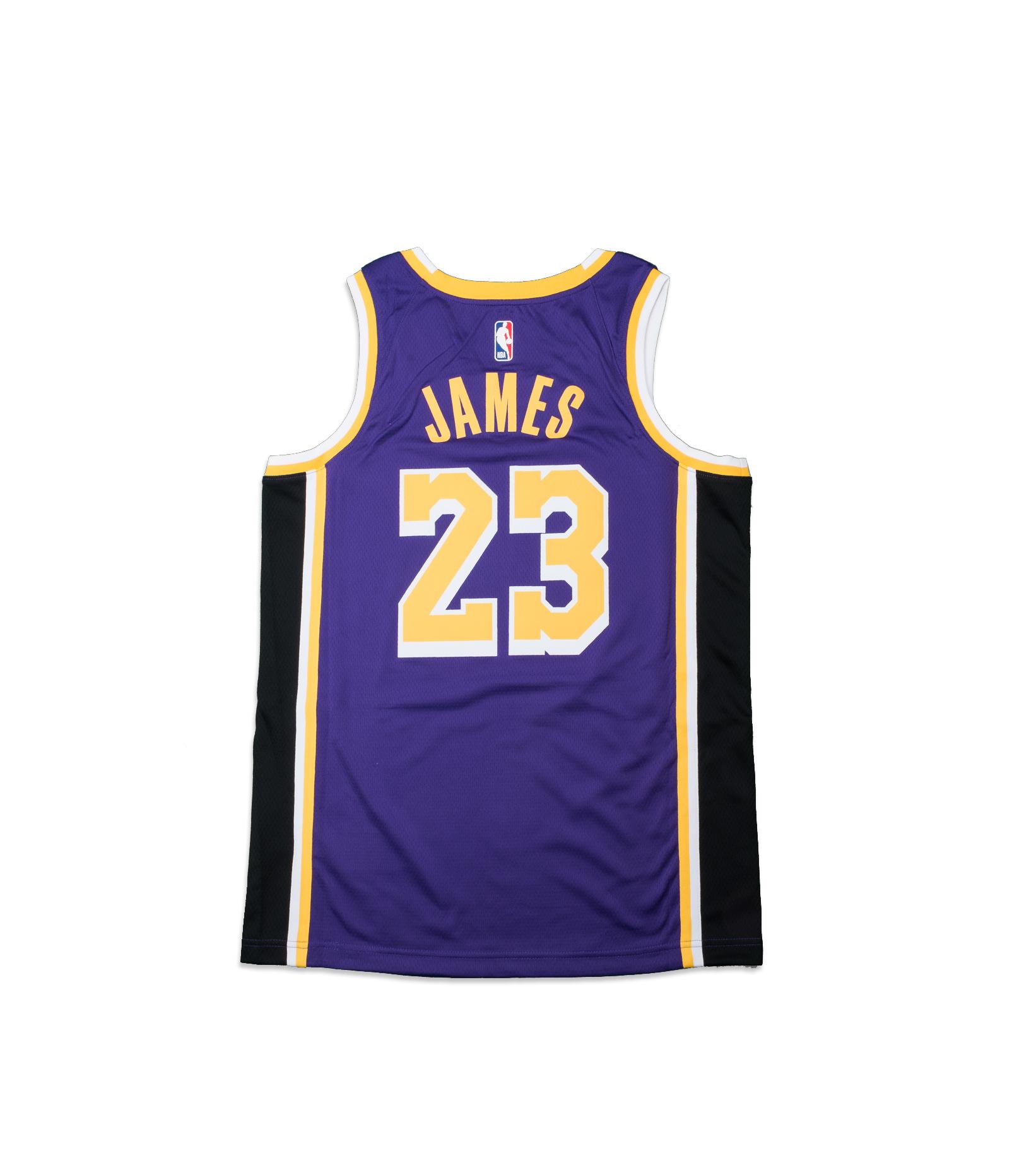"""L. James Statement Edition '20 Swingman Jersey """"Field Purple""""-4"""