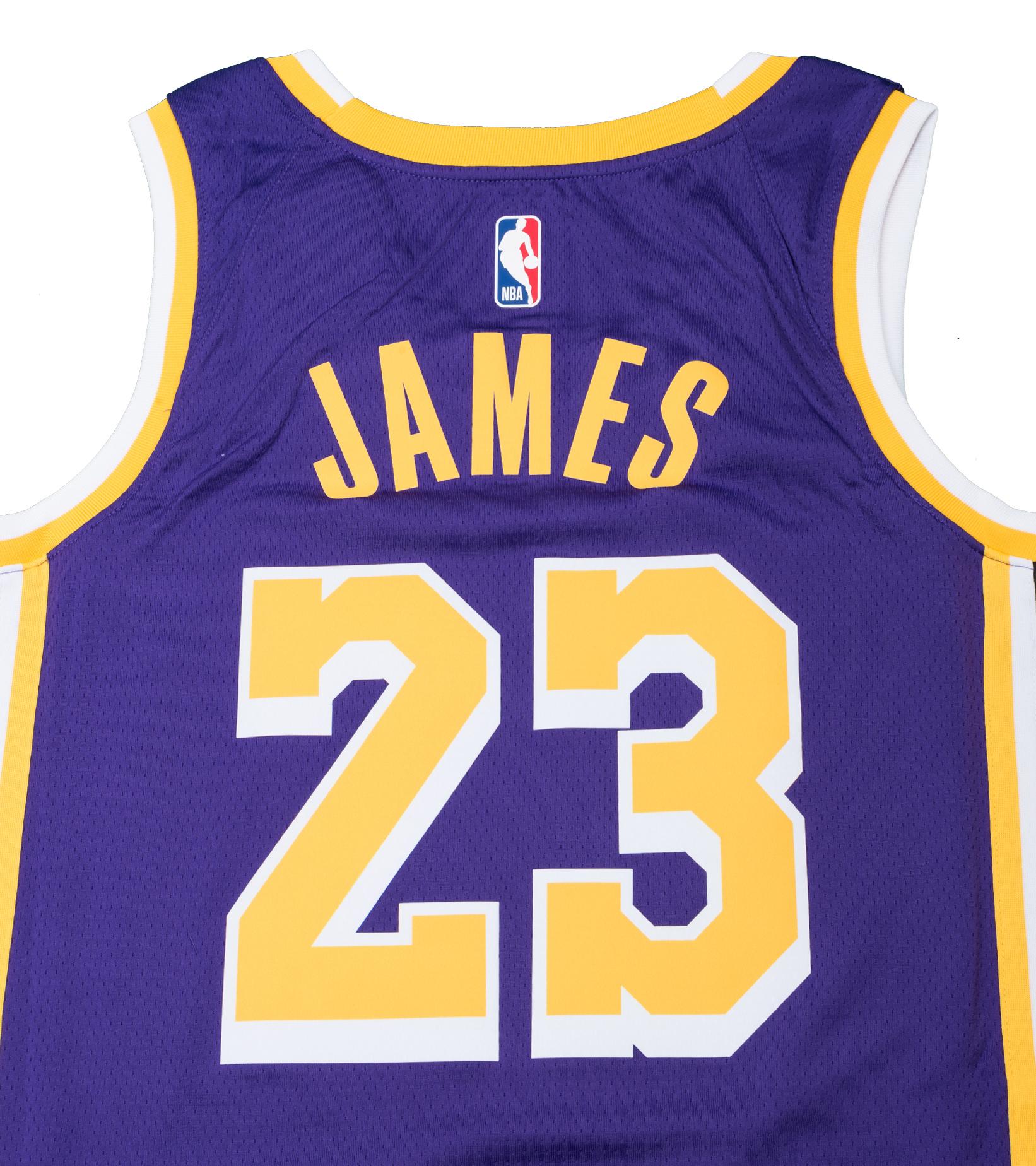 """L. James Statement Edition '20 Swingman Jersey """"Field Purple""""-5"""
