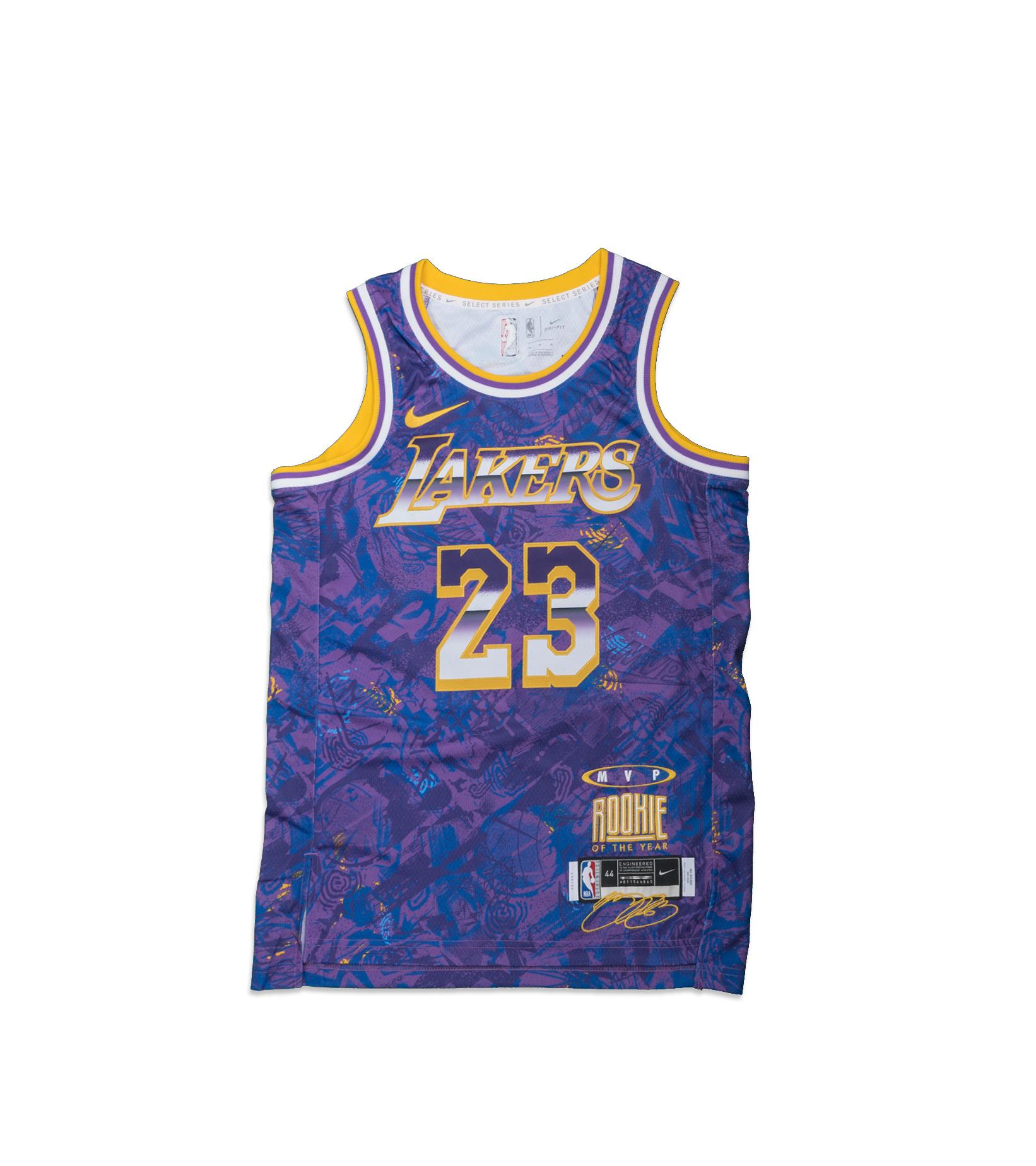 """L. James Select Series '21 Swingman Jersey """"Field Purple""""-1"""