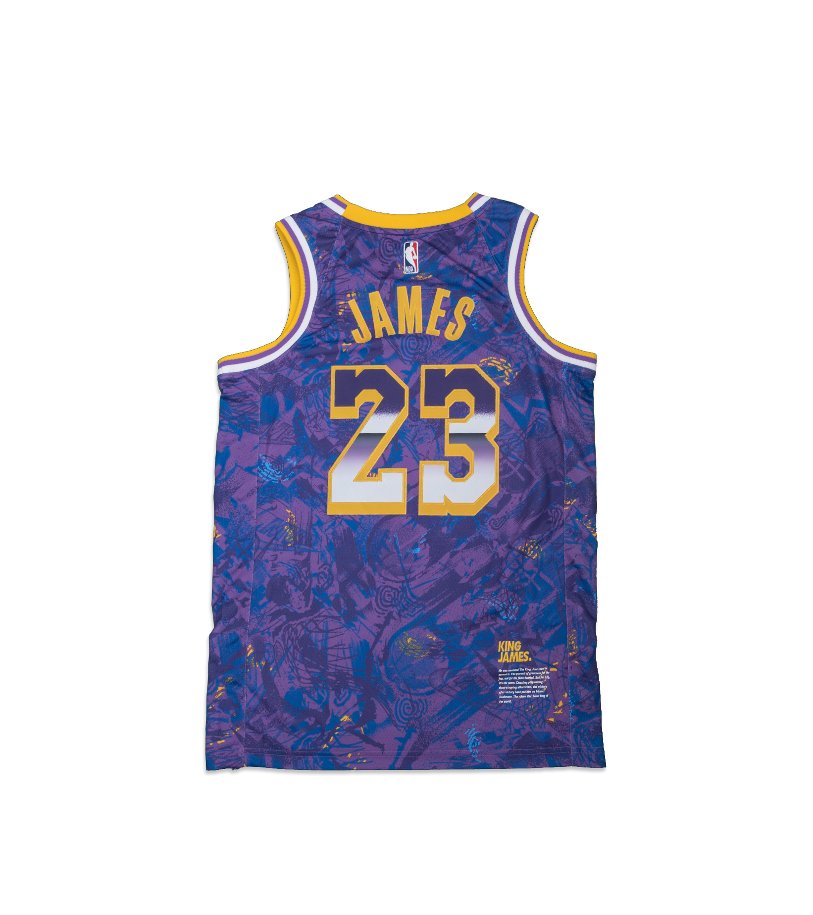 """L. James Select Series '21 Swingman Jersey """"Field Purple""""-5"""