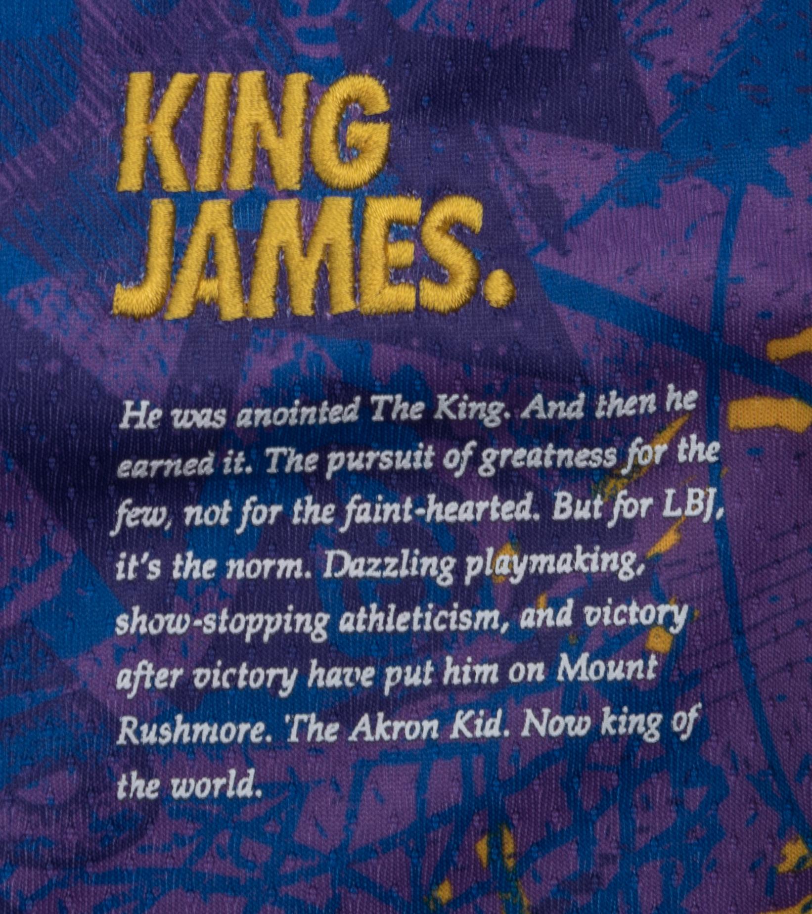 """L. James Select Series '21 Swingman Jersey """"Field Purple""""-7"""