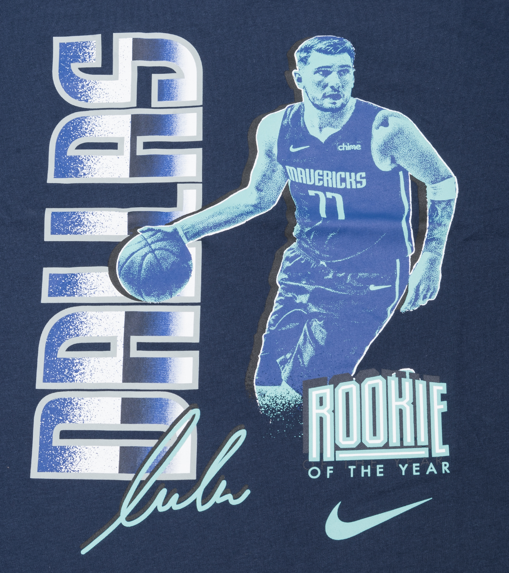"""L. Doncic Select Series '21 Dri-Fit Tee """"College Navy""""-2"""