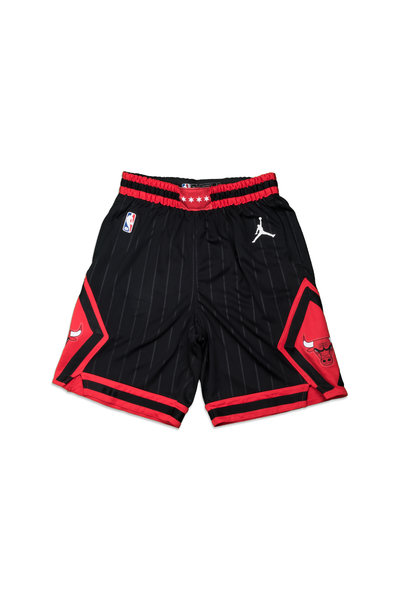"Chicago Bulls Statement Edition '20 Swingman Short ""Black/University Red"""