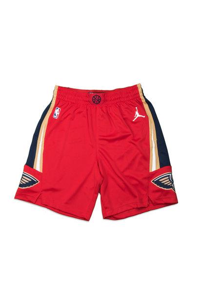 "New Orleans Pelicans Statement Edition '20 Swingman Short ""University Red/College Navy"""