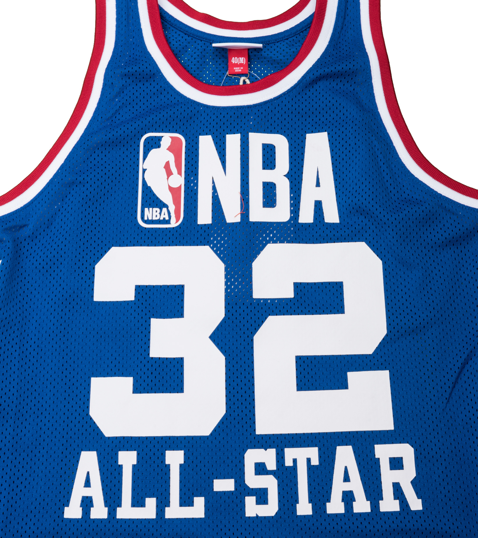 """West All Star Game '85 M. Johnson Authentic Jersey """"Royal""""-2"""